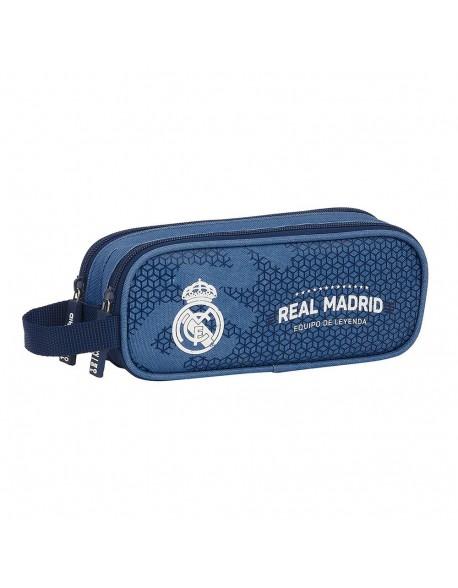 Real Madrid CF Leyenda Estuche portatodo doble 2 cremalleras escolar