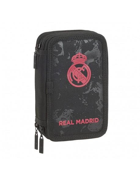Real Madrid CF Plumier triple estuche con 41 piezas