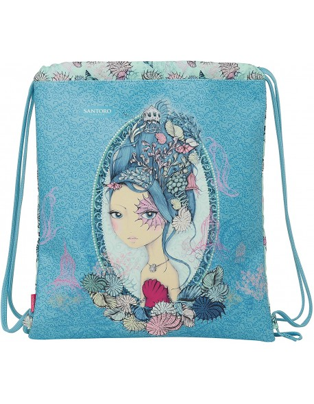 Mirabelle Marina Santoro Saco mochila plano cuerdas 35 x 40 cm