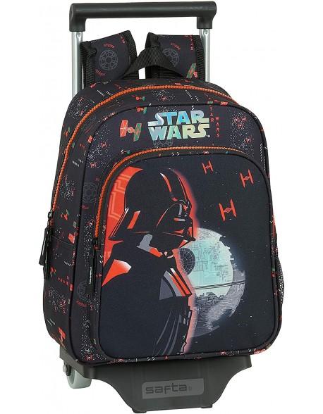 Star Wars Dark Side Mochila pequeña ruedas, carro, trolley