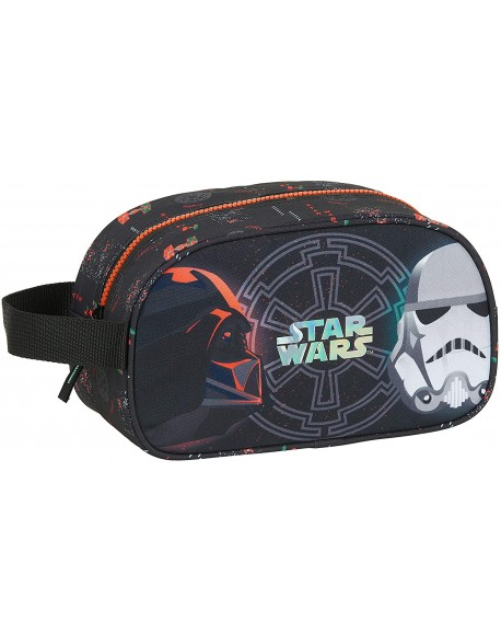 Star Wars Dark Side Neceser, bolsa de aseo adaptable a carro