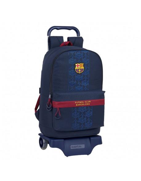 FC Barcelona Corporativa Mochila grande ruedas, carro, trolley