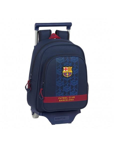 FC Barcelona Corporativa Mochila pequeña ruedas, carro, trolley