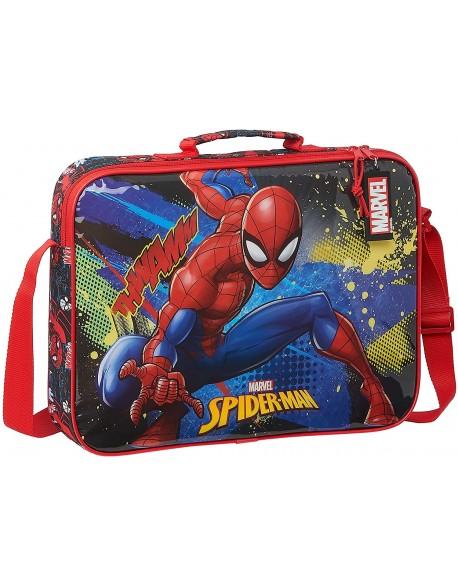 Spiderman Go Hero Bolso Maletín cartera extraescolares