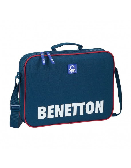 UCB Benetton Navy Maletín cartera extraescolares niña