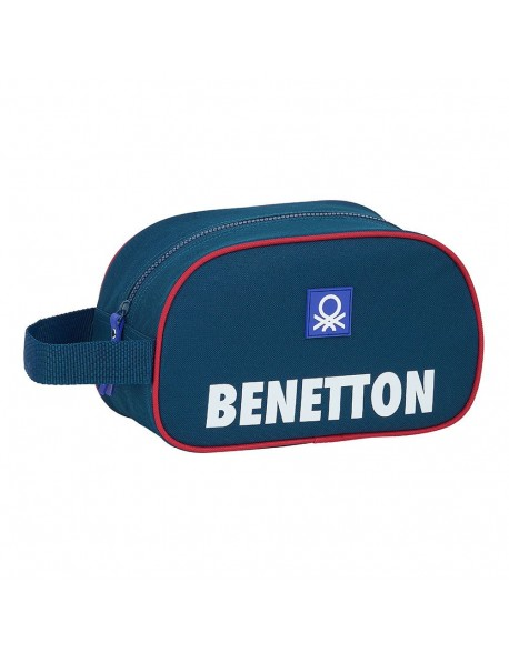 UCB Benetton Navy Neceser, bolsa de aseo adaptable a carro