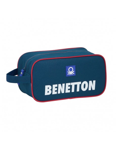 UCB Benetton Navy Bolso zapatillas zapatillero 29 cm