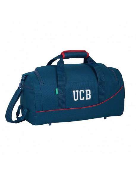UCB Benetton Navy Bolsa deporte Bolso de viaje 50 cm