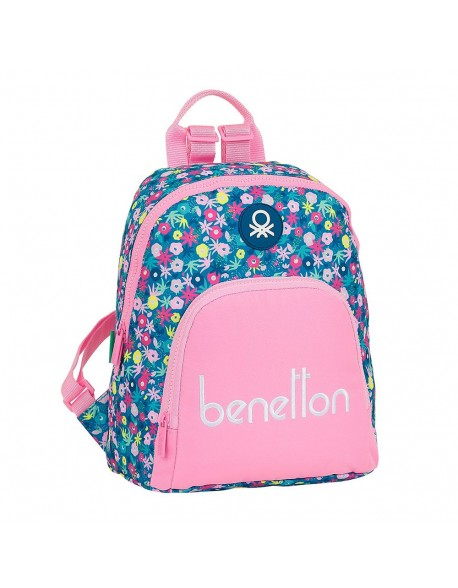 UCB Benetton Blooming mochila tipo casual.