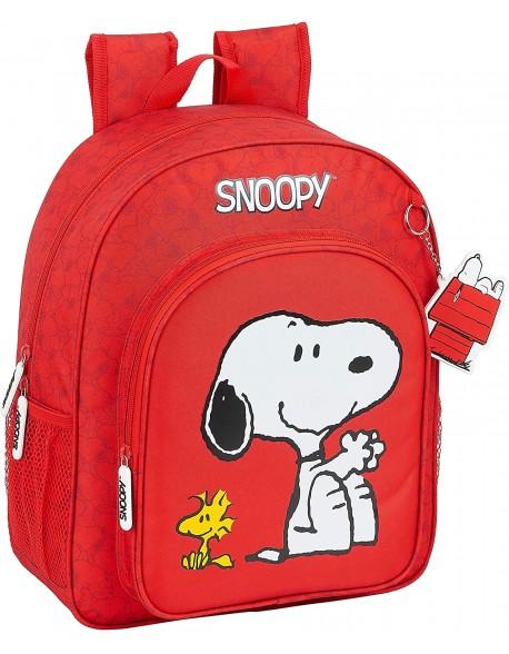 Snoopy Mochila junior adaptable carro