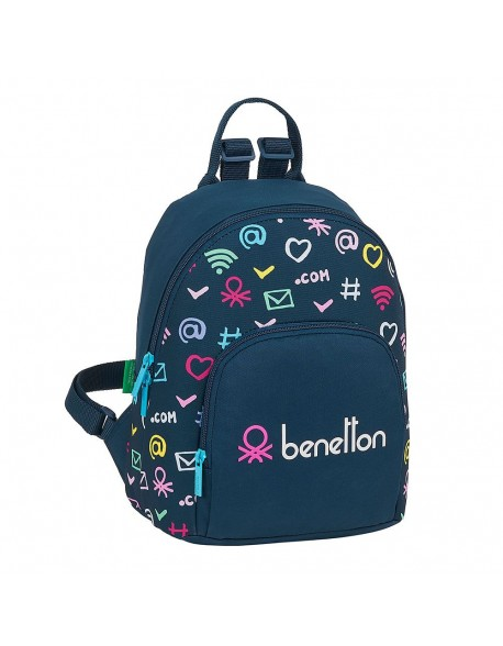 UCB Benetton Dot Com Mochila tipo casual.