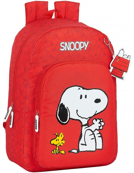 Snoopy Mochila grande adaptable a carro