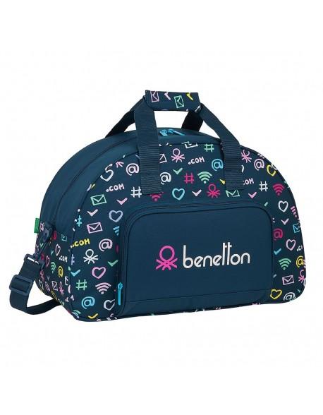 UCB Benetton Dot Com Bolsa deporte Bolso de viaje 48 cm