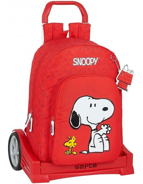 Snoopy Mochila con carro ruedas Evolution, Trolley