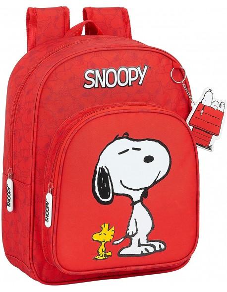 Snoopy Mochila pequeña adaptable carro