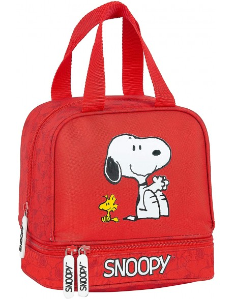 Snoopy Portameriendas, Bolso para el almuerzo o la merienda niño
