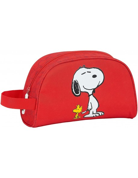 Snoopy Neceser, bolsa de aseo adaptable a carro