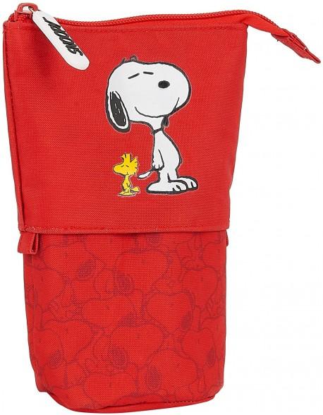 Snoopy Estuche portatodo cubilete escolar