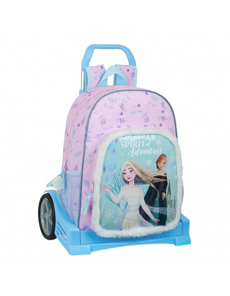 Frozen II Spirit of Adventure Mochila con carro ruedas Evolution, Trolley
