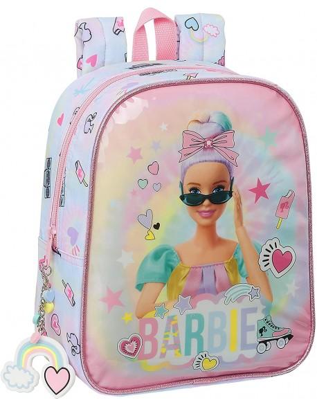 Barbie Girl Power Mochila guardería niña adaptable carro