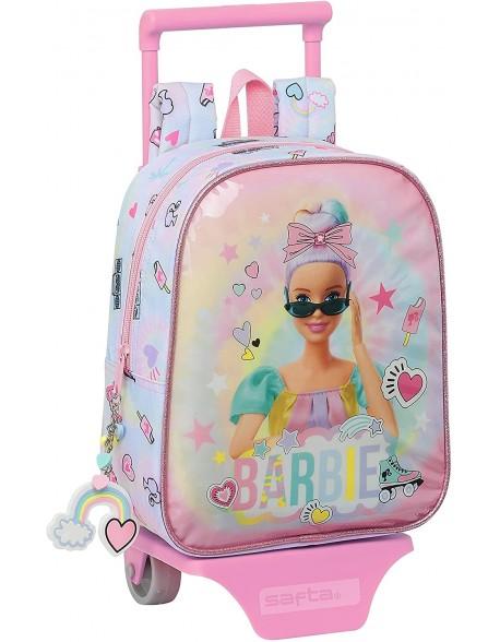Barbie Girl Power Mochila guardería ruedas, carro, trolley
