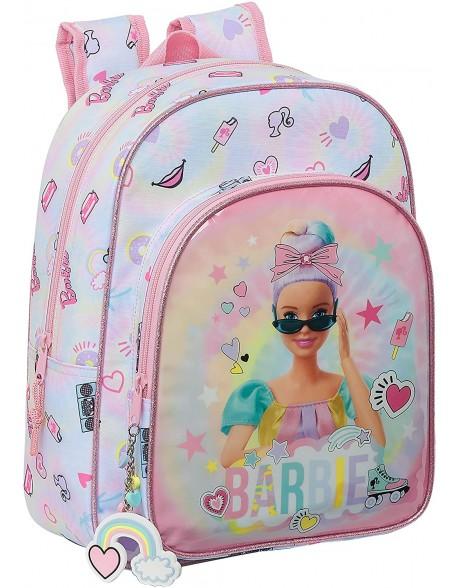 Barbie Girl Power Mochila pequeña niña adaptable carro