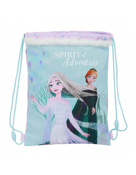 Frozen II Spirit of Adventure Saco mochila plano cuerdas 26 x 34 cm