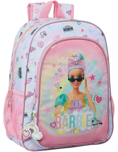 Barbie Girl Power Mochila grande adaptable a carro
