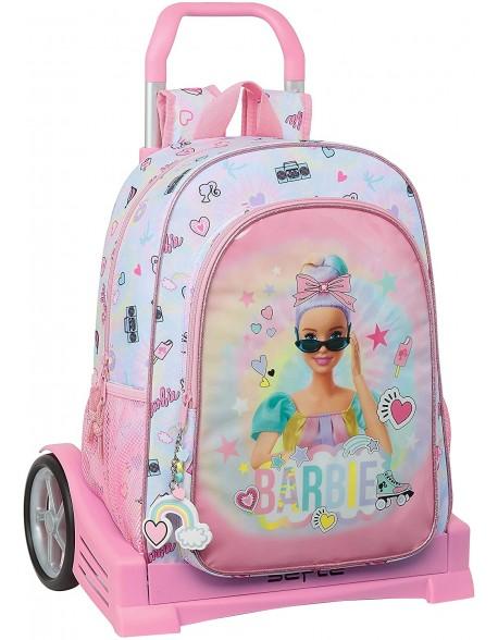 Barbie Girl Power Mochila con carro ruedas Evolution, Trolley