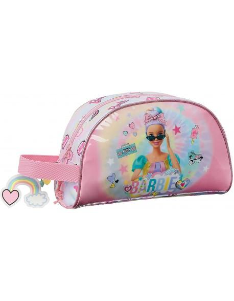 Barbie Girl Power Neceser, bolsa de aseo adaptable a carro