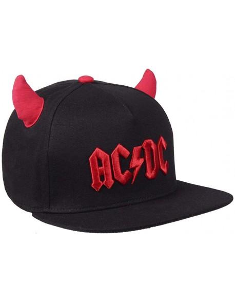 AC/DC Gorra visera plana, adulto