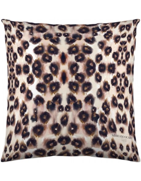 Miriam Ocariz Cojín Leopard 100% algodón