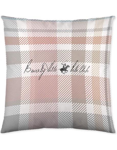 Beverly Hills Polo Club Cojín reversible Lysa Pink 100% algodón