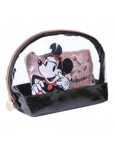 Minnie Mouse Neceser Transparente, bolsa de aseo adulto