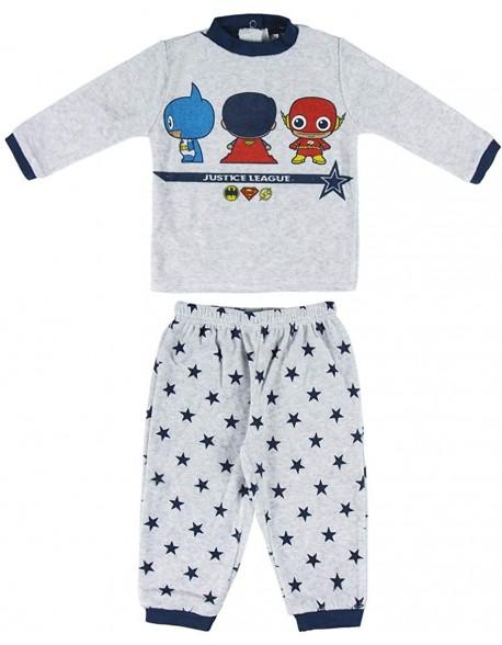 Justice League Pijama manga larga niño