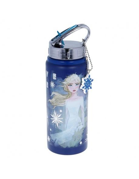 Frozen Ice Queen Botella deportiva aluminio - Botella de agua deportiva reutilizable