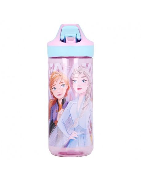Frozen II Elements Botella tritán premium - Botella de agua reutilizable