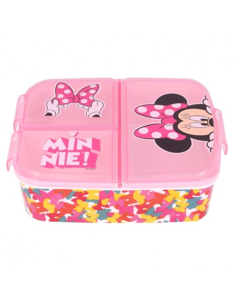Minnie Mouse So edgy bows Sandwichera - tupper múltiple